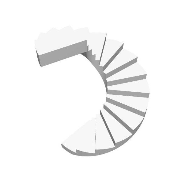 Винтовая бетонная лестница цена МОНОЛИТМАСТЕР