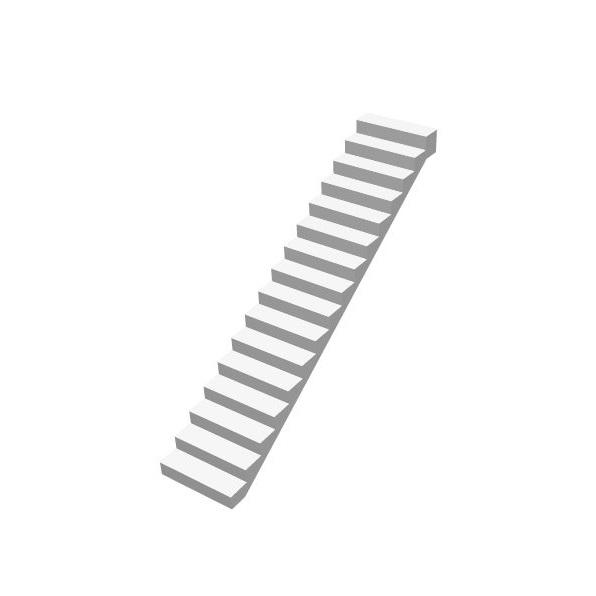 Прямая бетонная лестница (маршевая) цена МОНОЛИТМАСТЕР