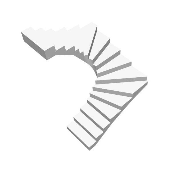 Бетонная п-образная лестница с забежными ступенями цена МОНОЛИТМАСТЕР