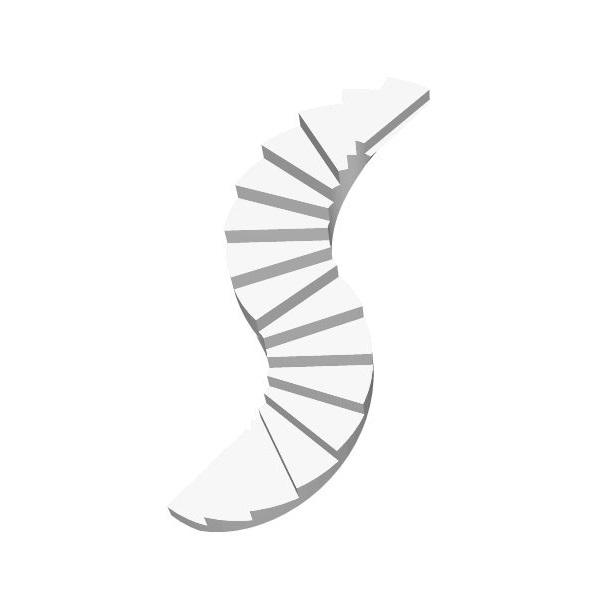 Бетонная лестница сложной формы цена МОНОЛИТМАСТЕР