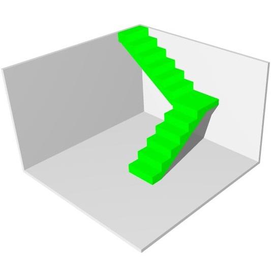 Выбрать варианты лестниц на второй этаж частного дома МОНОЛИТМАСТЕР