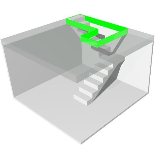Как сделать лестницу если мало места (маленький проем) МОНОЛИТМАСТЕР