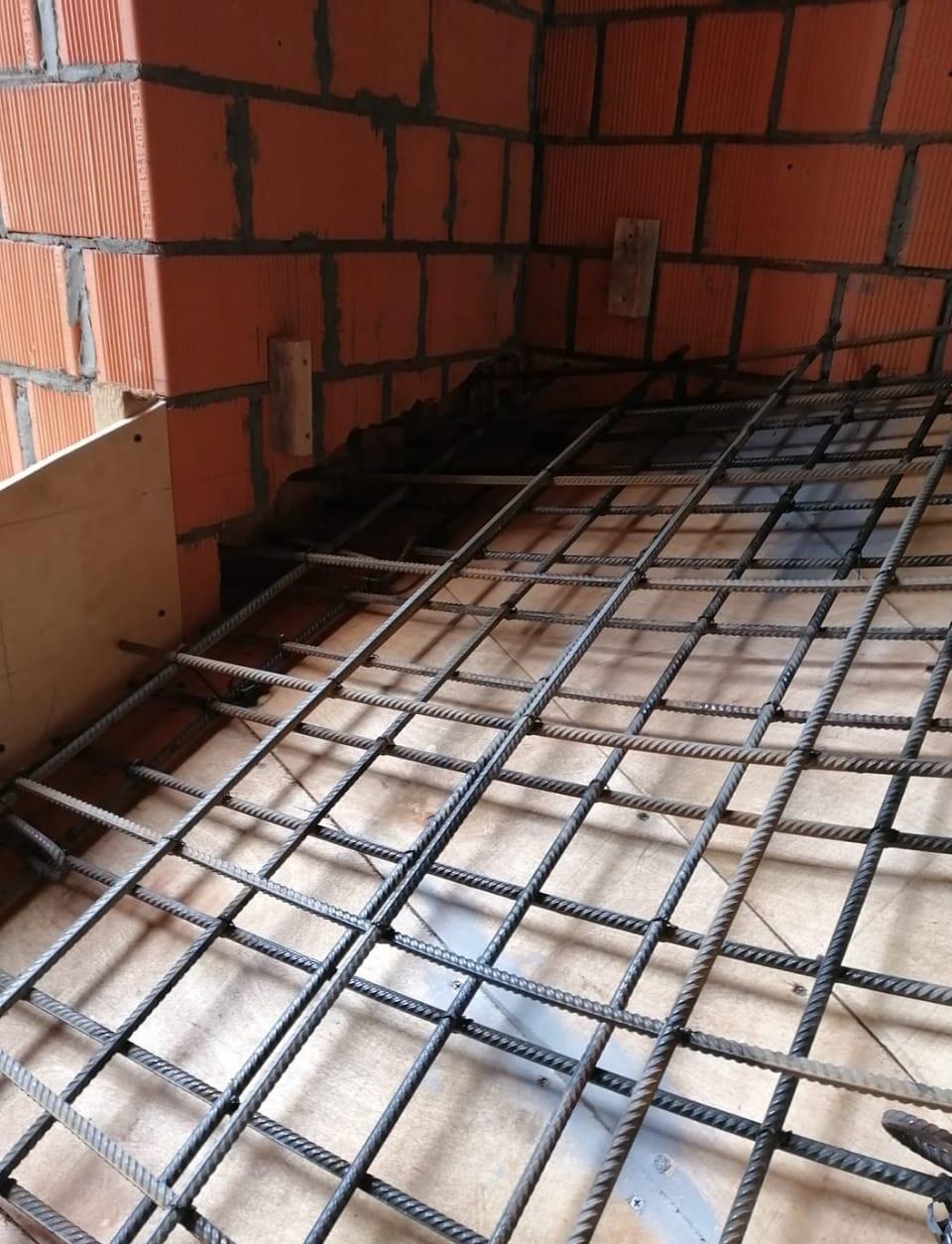 Армирование бетонной лестницы (двойное) МОНОЛИТМАСТЕР