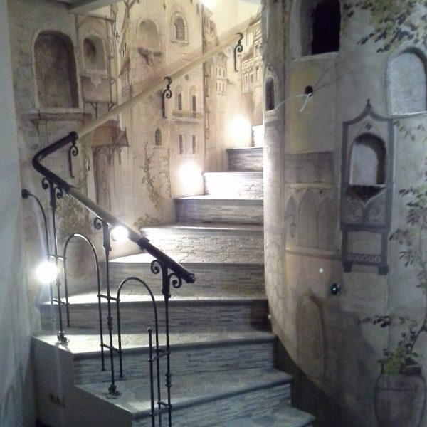 П-образная бетонная лестница с забежными ступенями фото 14 МОНОЛИТМАСТЕР