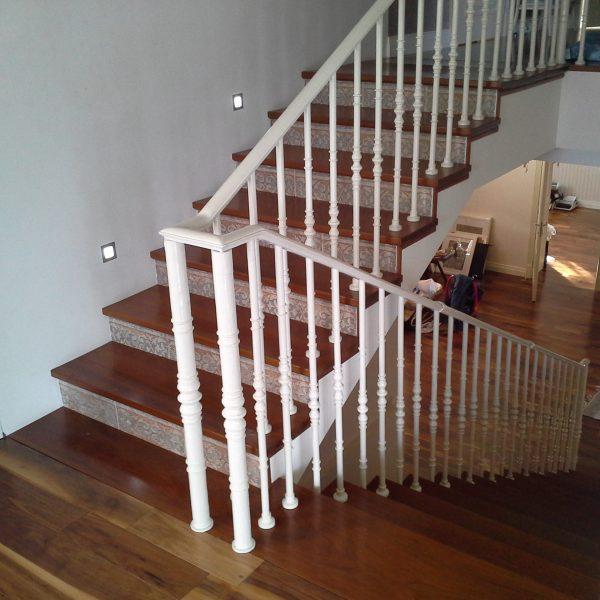 П-образная бетонная лестница с площадкой фото 12 МОНОЛИТМАСТЕР